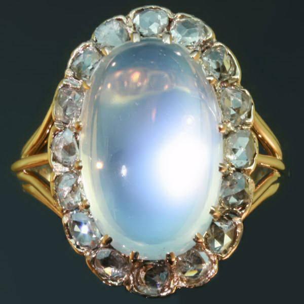 Antique Victorian Moonstone Ring