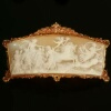Superb French Baroque cameo in golden mounting. A true collectors item!