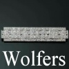 Platinum Art Deco diamond brooch by Maison Wolfers
