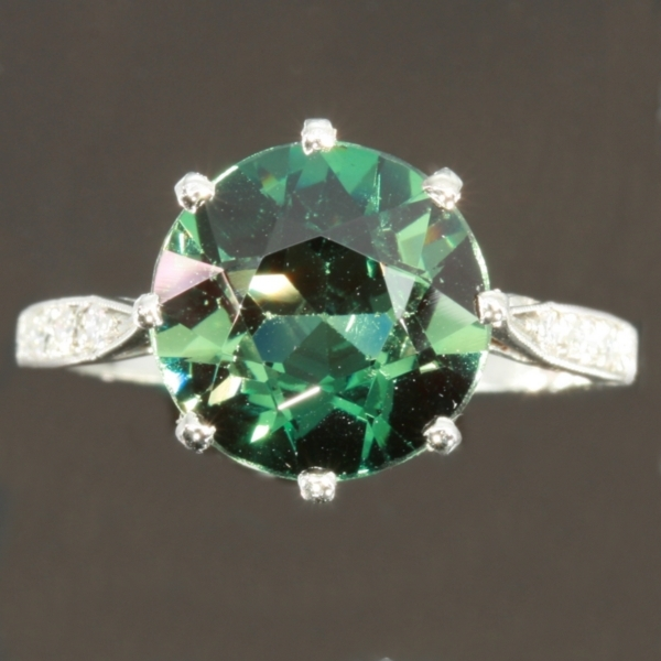 gold in emerald women cubic zirconia green from square stone plated on ring brilliant jewelry classic big item color fashion rings white accessories