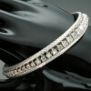 Vintage white gold diamond tennis bracelet from the Sixties