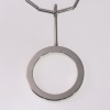 Artist Jewelry by Chris Steenbergen silver necklace and pendant