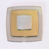 Artist Jewelry Chris Steenbergen gold and silver brooch