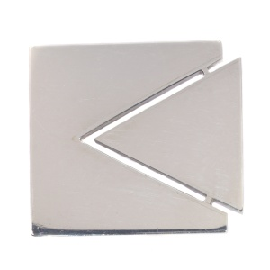 Artist Jewelry by Chris Steenbergen silver brooch