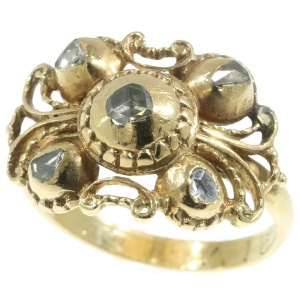 Antique Baroque Diamond Ring