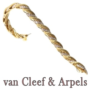 Van Cleef and Arpels Diamond Bracelet