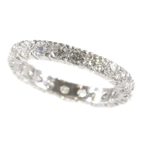 Estate diamond eternity band