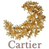 Cartier diamond and yellow gold brooch Cartier Paris