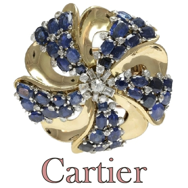 vintage the diamond magwood brooch cartier version panther s blog