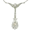 Belle Epoque diamond pendant by Dutch supplier to the court