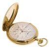 Longines gold pocketwatch with chronometer- anno 1900