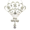 Belle Epoque diamond pendant most probably Austrian Hungarian