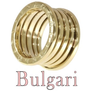 Vintage signed Bulgari ring model B.Zero.1 gas tube model