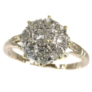 Antique diamond engagement ring early 19th Century early Victorian