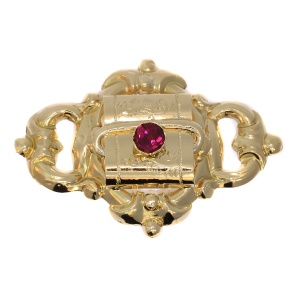 Classic Antique Early Victorian Brooch anno 1850
