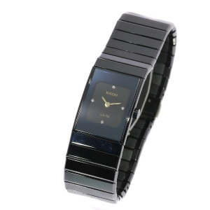 Rado Ceramics jubilé diamond wrist watch