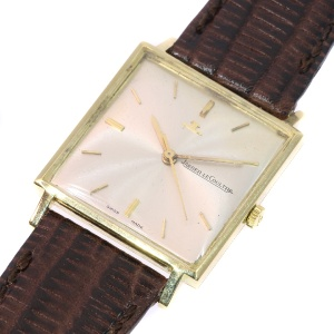 Unisex vintage gold watch from Jeager-LeCoultre