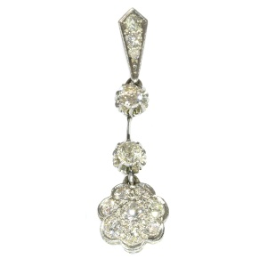 Vintage Art Deco diamond pendant