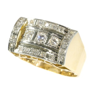 Vintage Retro diamond ring
