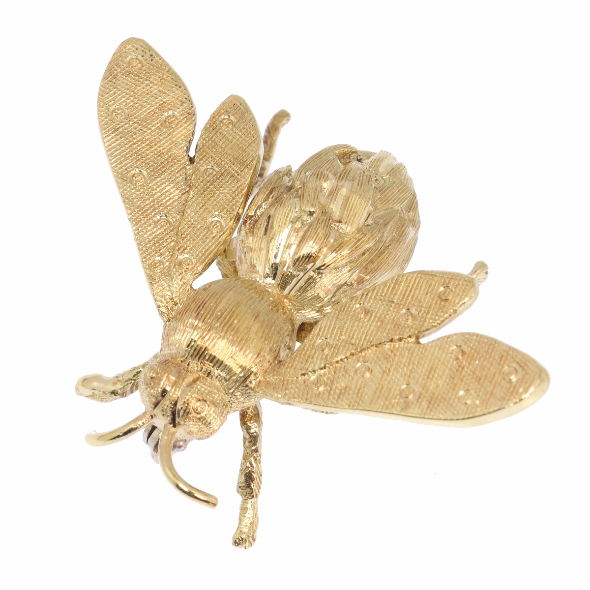 Vintage Fifties gold bee pin/brooch