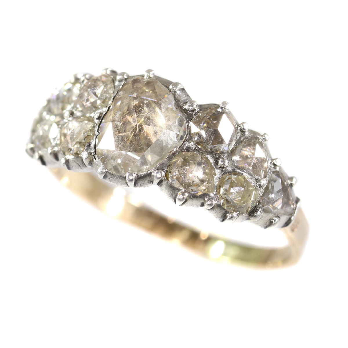 Very early Victorian diamond ring