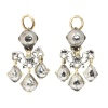 High quality Baroque diamond earrings