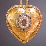 heart shape jewelry