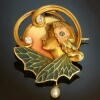 antique jewelry, estate jewelry and vintage jewelry by Adin, Antwerp: Absolute stunning precious stones dragonfly