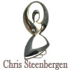 Artist Jewelry by Chris Steenbergen gold malachite ring