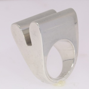 Artist Jewelry Chris Steenbergen silver ring