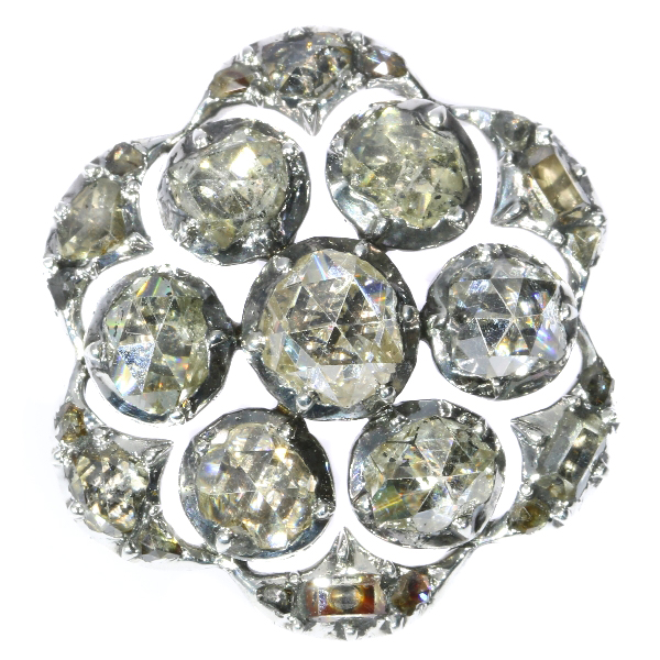 18th Century diamond button