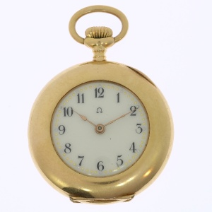 Omega Avance Retard - Ladies  pocket watch - antique - 1890