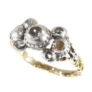 Antique Baroque/Rococo diamond ring