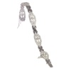Vintage Fifties Art Deco diamond bracelet with 4.65 crt total diamond weight