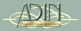 adin fine antique jewellery logo
