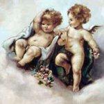 angels, putti and cherubs
