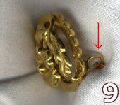 old brooches - how to use long pin